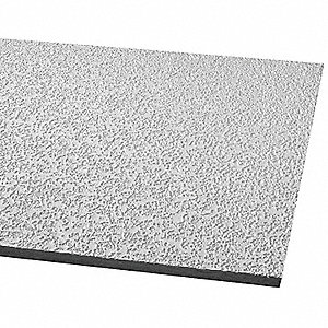 "Ceiling Tile,24"" W,48"" L,5/8"" Thick,PK16"