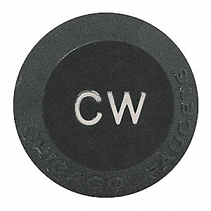 Plastic Cold Water Button for 204-4-Arm Handles