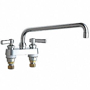 Low Arc, Kitchen Sink Faucet, Lever Faucet Handle Type, 2.20 gpm, Chrome