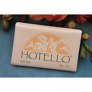 Hotello Deodorant Bar Soap, Fresh Fragrance, #1/2, 1000 PK