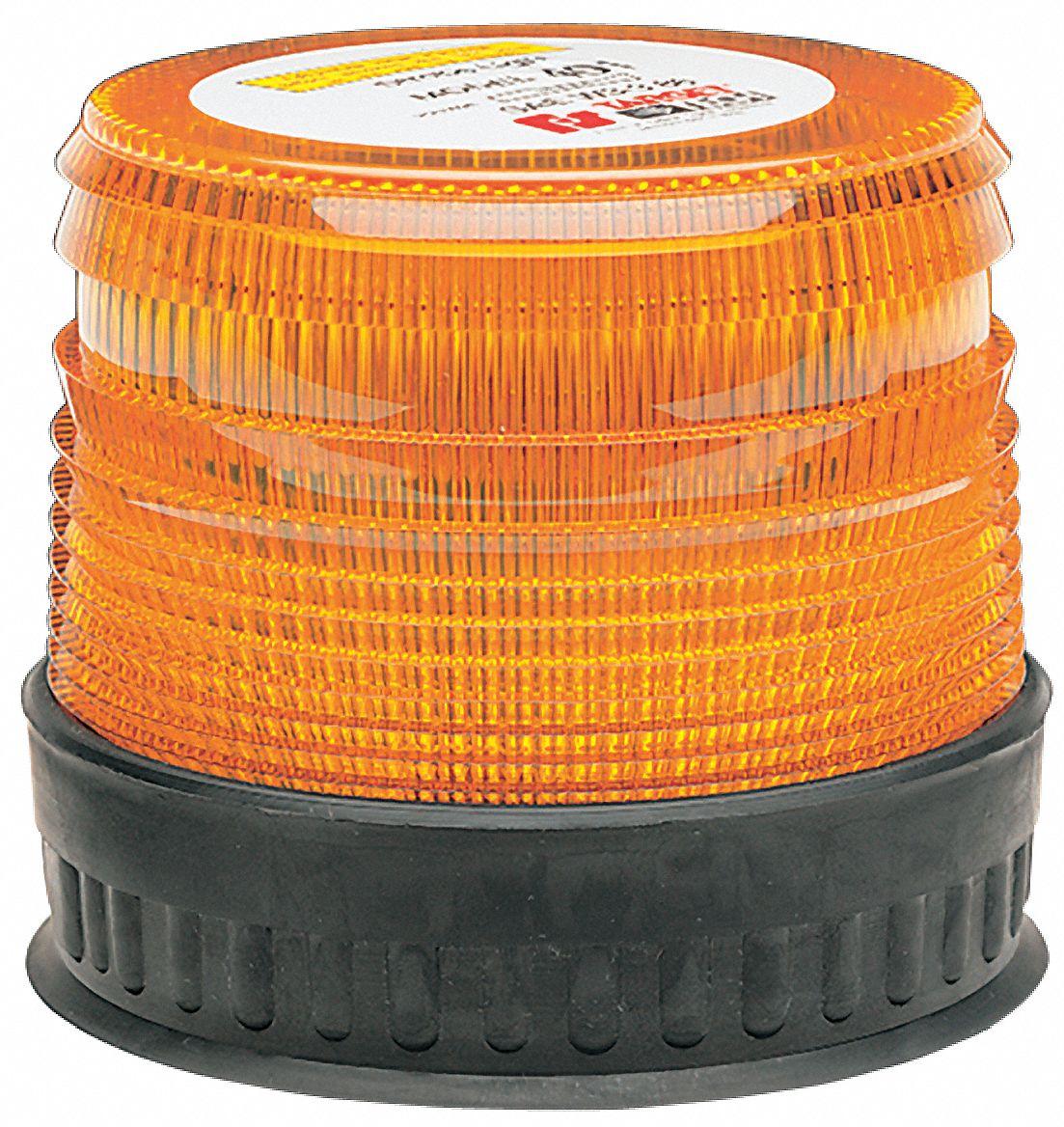 Federal Signal Strobe Light Amber Flashing 5uvl5 220300 02