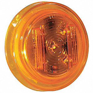 Clearance/Marker,2.5In.,PC Rated,LED,Ylw