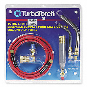 LP-2 Torch Kit, MAP-Pro/Propane Fuel, Manual Ignitor
