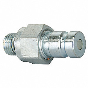 Coupler Nipple,7/16-20, Body,Steel