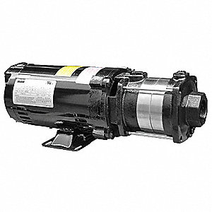 Pump,1 HP,208-240/480VAC,3 Ph,3 Stage