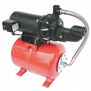 Shallow Well Jet Pump Sys,3/4HP,115/230V
