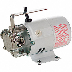 1/10 HP Nickel-Plated Brass Compact Utility Pump, Intermittent