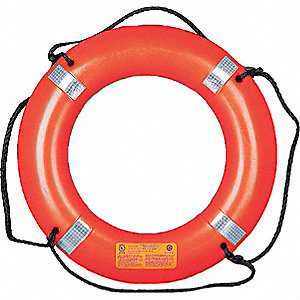Ring Buoy with Reflective Tape,30 In