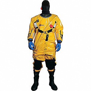 Ice Rescue Suit,Diagonal Entry