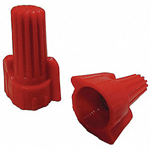 Twist On Wire Connector, Red, P13 Series, Max. Wire Combination: (5) 12 AWG Solid