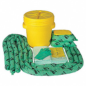 Chemical, Hazmat Spill Kit, 20 gal. Drum