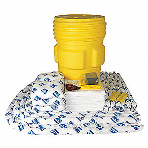 Oil Only/Petroleum Spill Kit, 95 gal. Drum