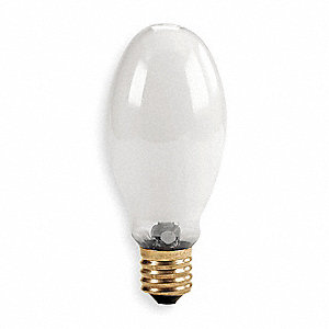 250 Watts Mercury Vapor HID Lamp, ED28, Mogul Screw (E39), 11,200