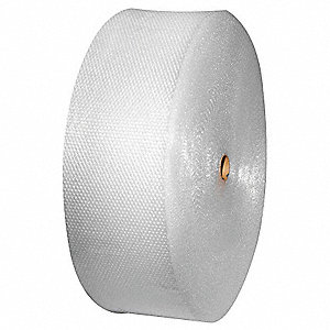 Bubble Roll,12In. x 750 ft.,Clear,PK4