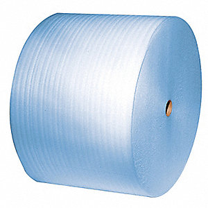 "Cohesive Foam Roll, 24""W x 625 ft., Blue, Perforated: Yes, Perforation Increments: 6"""