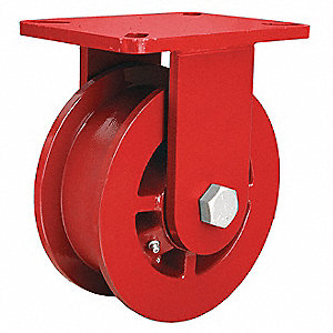 Double-Flanged Cstr,Cst Irn,6 in,2500 lb