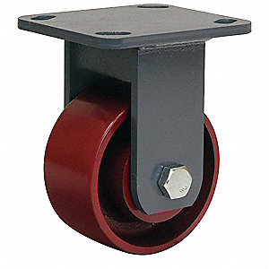 "4"" Plate Caster, 1000 lb. Load Rating"
