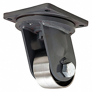 "6"" Extra Super Duty Swivel Plate Caster, 12,000 lb. Load Rating"