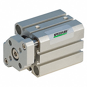 50mm Air Cylinder Bore Dia. with 10mm Stroke Aluminum , Through Hole Mounted Air Cylinder