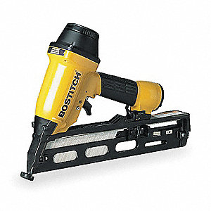 Adhesive Air Finish Nailer, Yellow