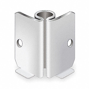 Stem Caster Bracket,1-5/8 in. H,PK5