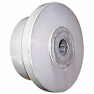 "6"" Caster Wheel, 900 lb. Load Rating, Wheel Width 2"", Cast Iron, Fits Axle Dia. 1/2"""