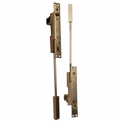 KABA ILCO FLB-58-18-DU Manual Flush Bolt,Bronze,16-3//4in.L