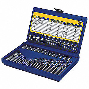 Screw Extractor/Drill Set,35 Pcs