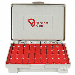 PIN GAGE SET,PLUS,0.011-0.060 IN,BL