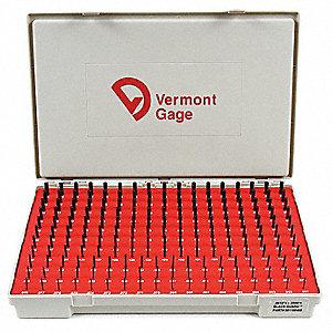 PIN GAGE SET,PLUS,0.061-0.250 IN,BL