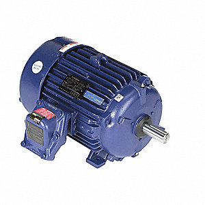 20 HP Hazardous Location Motor,3-Phase,3540 Nameplate RPM,230/460 Voltage,Frame 256T