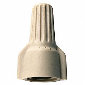 Twist On Wire Connector,22-10 AWG,PK500