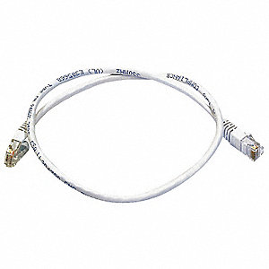 PATCH CORD,CAT6,2FT,WHITE
