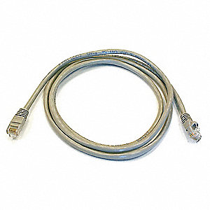 PATCH CORD,CAT6,5FT,GRAY
