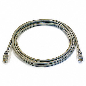6,  RJ45,  Booted, Booted,  Shielded No,  10 ft Length - Patch Cord