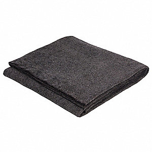 Emergency Blanket,Gray,72In x 90In,PK25