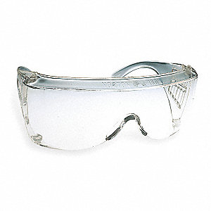 Norton 180 Scratch-Resistant Safety Glasses, Clear Lens Color