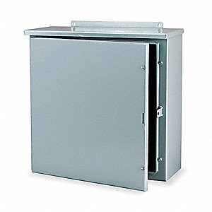 Enclosr,Metallic,30In.Hx 24In.Wx8In.D,3R