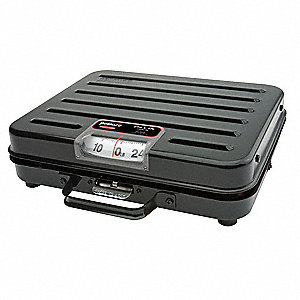 100kg/250 lb. Mechanical Analog Dial Compact Bench Scale