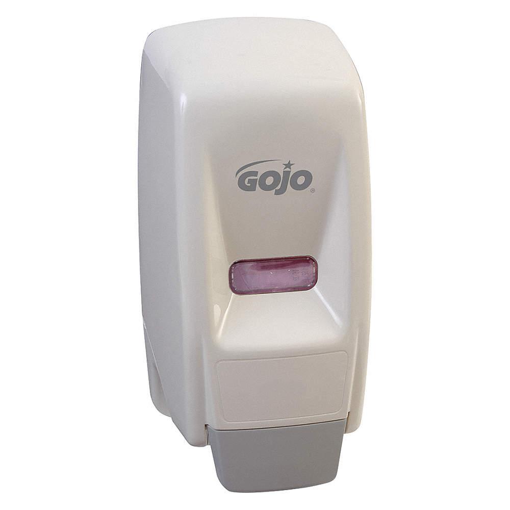 GOJO Bag-in-Box Hygiene Series, 800mL, Manual, Liquid, Wall, White ...