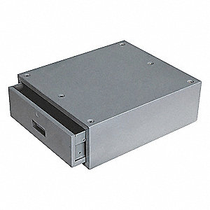 Stackable Drawer,17W x 20D x 6H,Gray