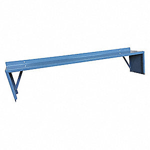 Shelf Riser,72 W x 10 D x 12 in. H,Gray