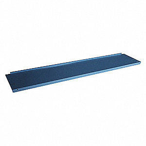 Lower Shelf,60Wx15Dx2 H,Industrial Gray
