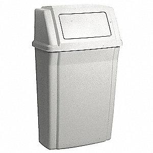 trash galbeige - Slim Trash Can