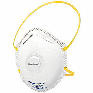 P95 Disposable Particulate Respirator, White, Universal, 10PK