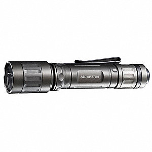 LED Tactical Mini Flashlight, Aluminum, Maximum Lumens Output: 120, Olive Drab, 5.40""