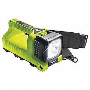 LanternLED, Plastic, Maximum Lumens Output: 1203, High Visibility Green, 8.75""