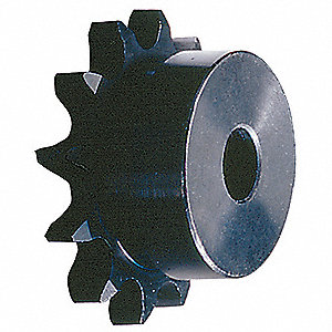 Plain Bore Roller Chain Sprocket, For Industry Chain Size: 80, 9 Number of Teeth