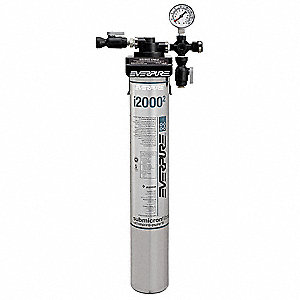 ICE MACHINE FILTER SYSTEM,SINGLE,3/