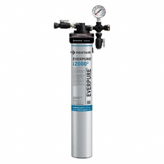 Pentair Everpure 3 8 In Npt Aluminum Ice Machine Filter System 1 67 Gpm 125 Psi 5wfg3 Ev932401 75 Grainger